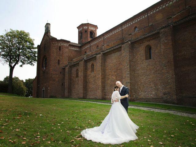 Il matrimonio di Mauro e Sara a Morimondo, Milano 1