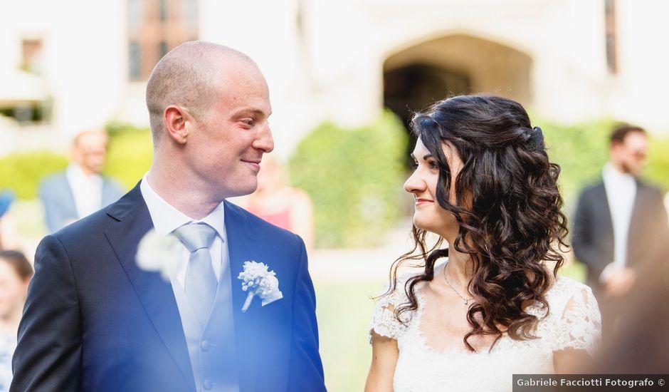 Il matrimonio di Alberto e Virginia a Oleggio Castello, Novara