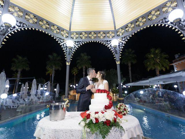 le nozze di Alessandra e Lucio