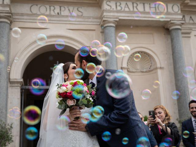 Il matrimonio di Francesco e Alessia a Roma, Roma 1