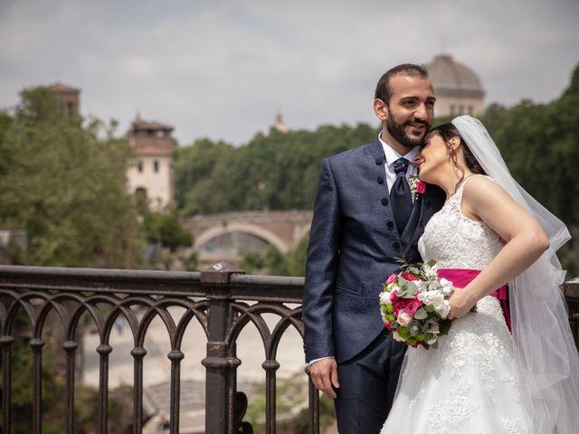 Il matrimonio di Francesco e Alessia a Roma, Roma 109