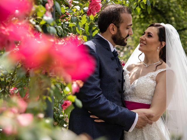 le nozze di Alessia e Francesco