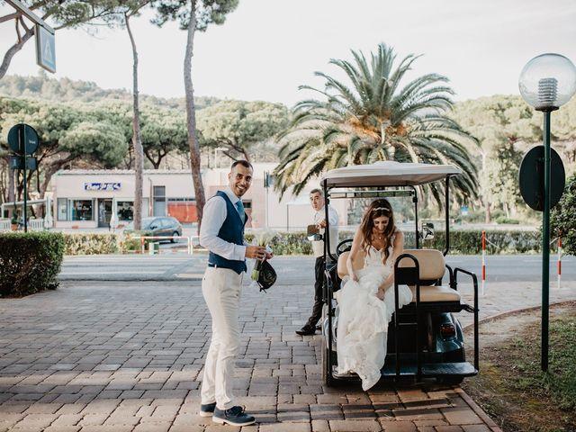 Il matrimonio di Daniele e Consuelo a Castiglione della Pescaia, Grosseto 36