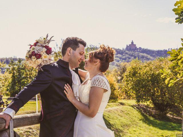 Le nozze di Jennifer e Matia