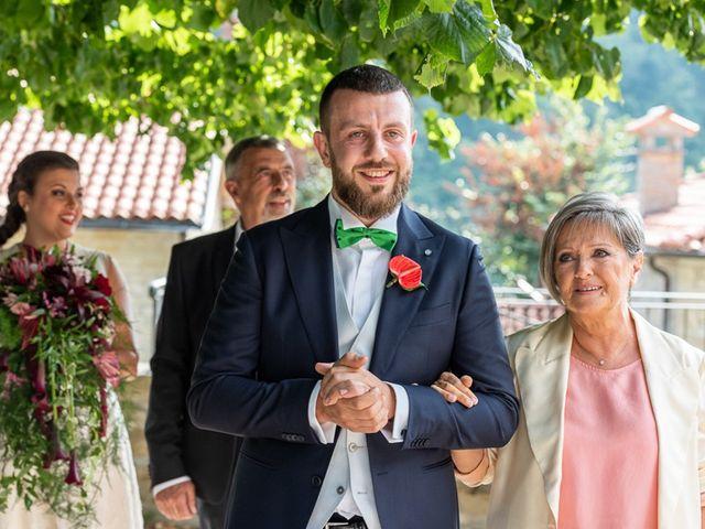 Il matrimonio di Vittoria e Jonathan a Palazzuolo sul Senio, Firenze 15