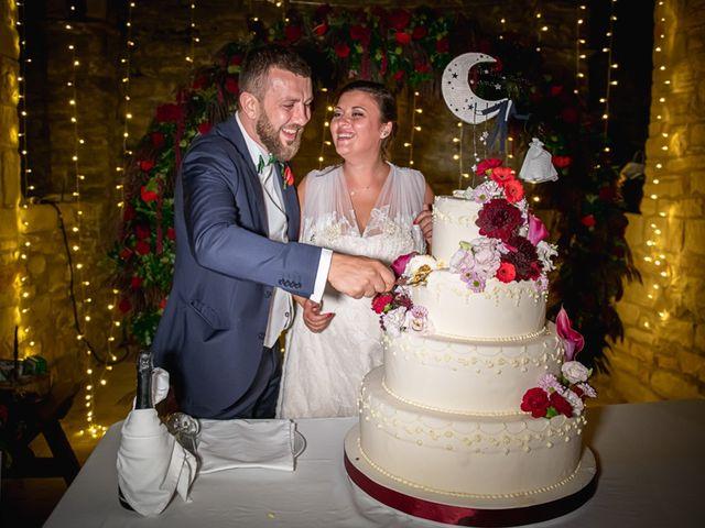 Il matrimonio di Vittoria e Jonathan a Palazzuolo sul Senio, Firenze 34