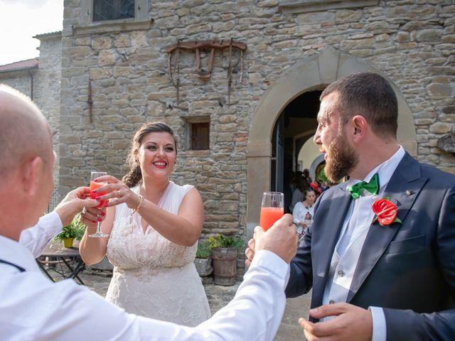 Il matrimonio di Vittoria e Jonathan a Palazzuolo sul Senio, Firenze 26
