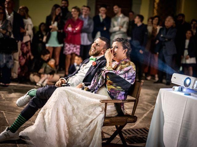 Il matrimonio di Vittoria e Jonathan a Palazzuolo sul Senio, Firenze 35
