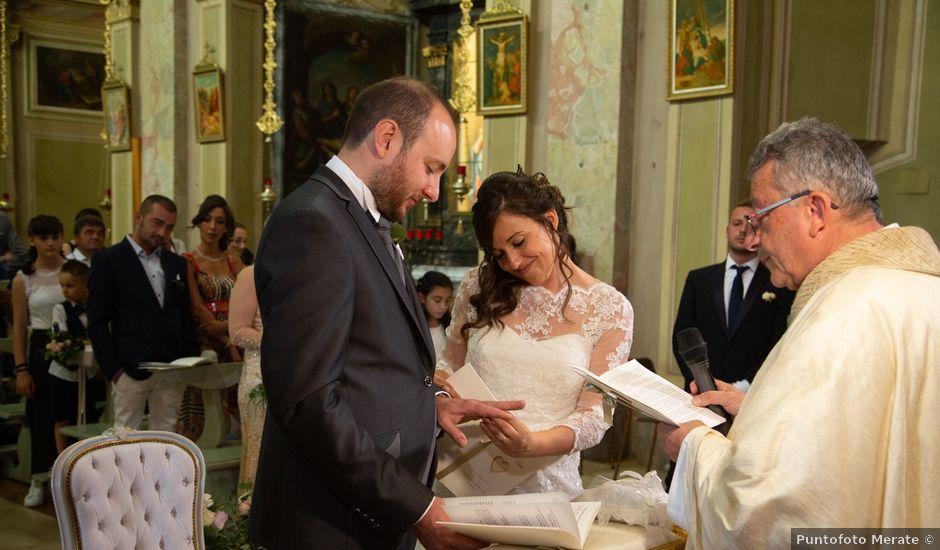 Il matrimonio di Andrea e Lucia a Imbersago, Lecco