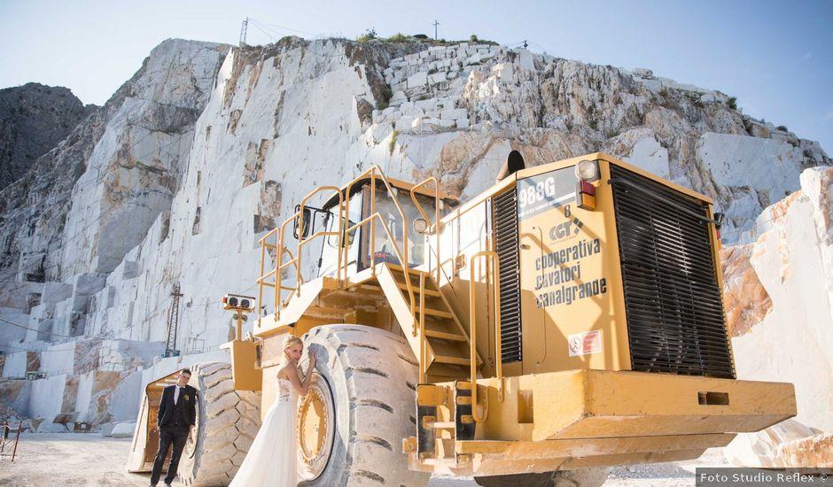 Il matrimonio di Gabriele e Giulia a Carrara, Massa Carrara