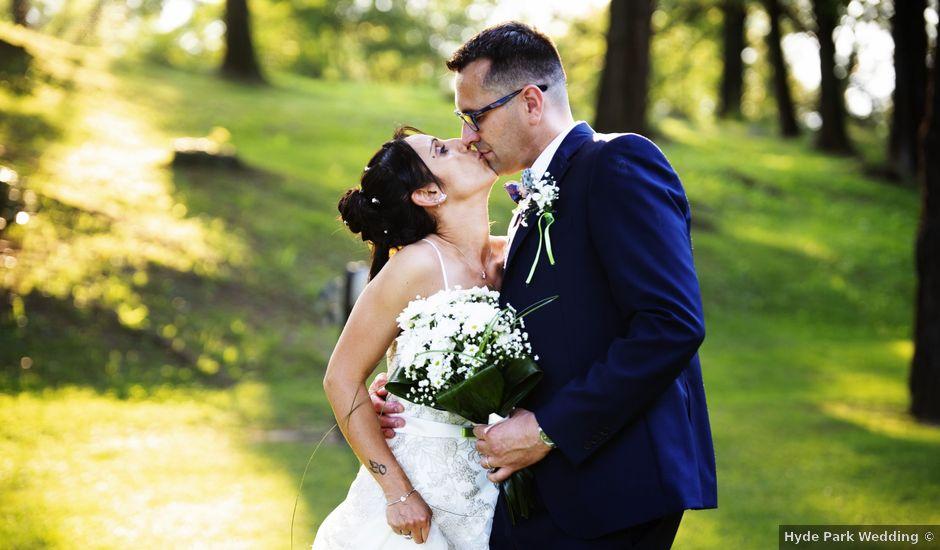 Il matrimonio di Cristiano e Silvia a Besozzo, Varese
