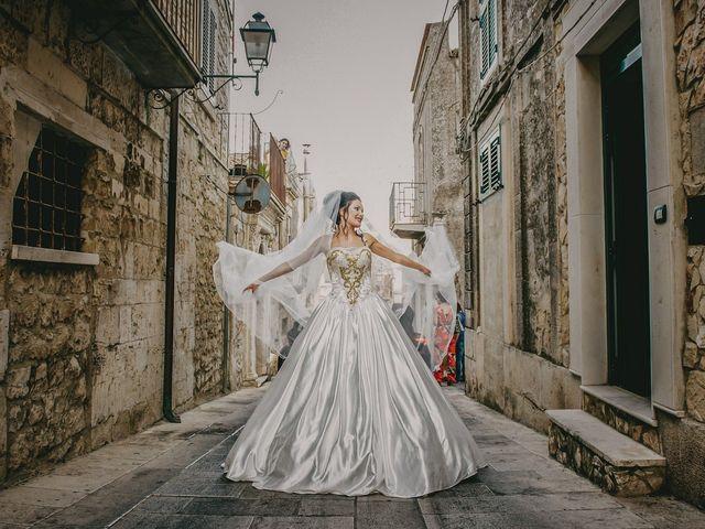 Il matrimonio di Andrea e Eléna a Modica, Ragusa 23
