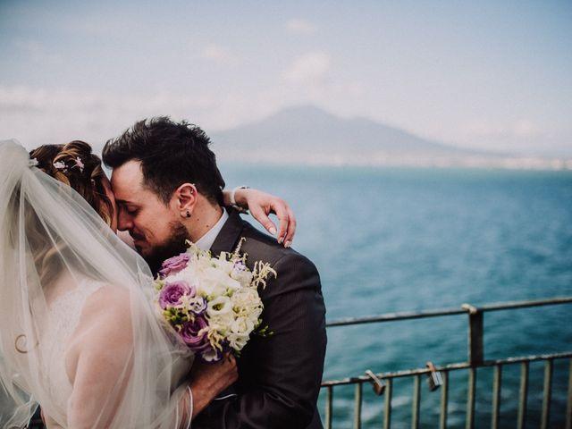 Il matrimonio di Max e Ilaria a Napoli, Napoli 57