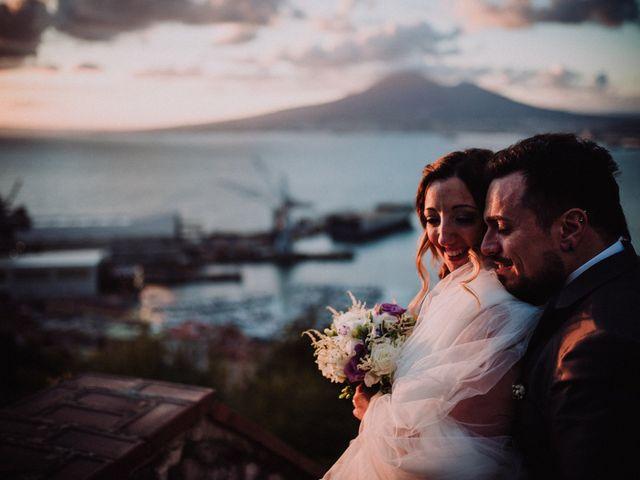 Il matrimonio di Max e Ilaria a Napoli, Napoli 80