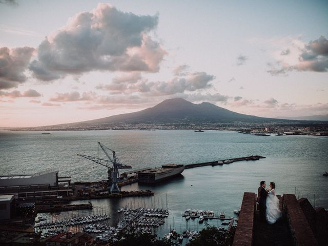 Il matrimonio di Max e Ilaria a Napoli, Napoli 81