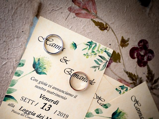 Il matrimonio di Emanuele e Hanna a Sermoneta, Latina 3