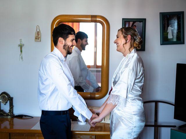 Il matrimonio di Emanuele e Hanna a Sermoneta, Latina 5
