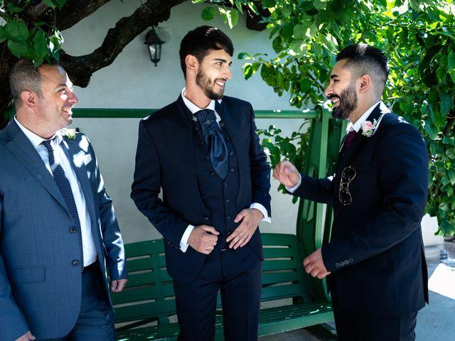 Il matrimonio di Emanuele e Hanna a Sermoneta, Latina 11