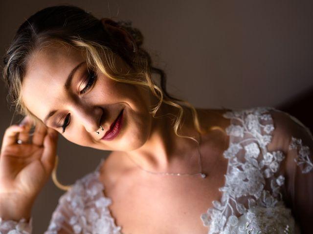 Il matrimonio di Emanuele e Hanna a Sermoneta, Latina 14