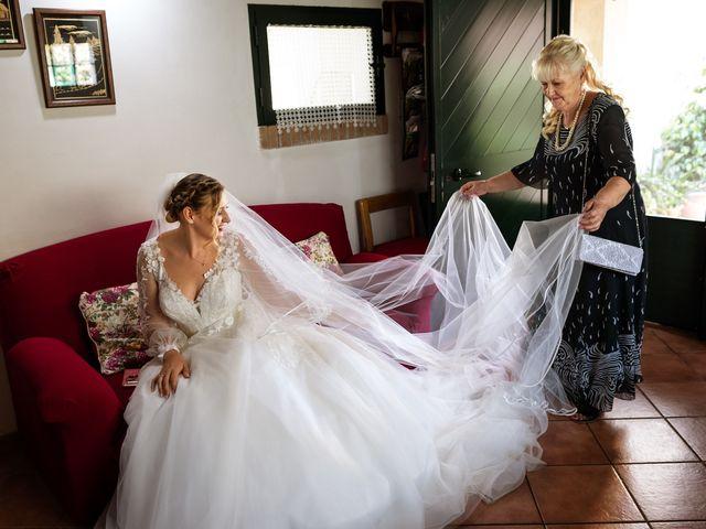 Il matrimonio di Emanuele e Hanna a Sermoneta, Latina 16