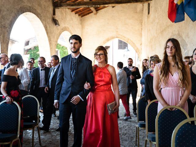 Il matrimonio di Emanuele e Hanna a Sermoneta, Latina 19