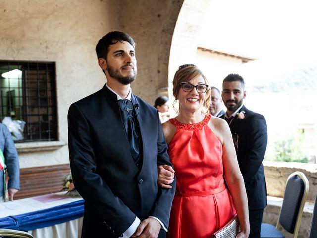 Il matrimonio di Emanuele e Hanna a Sermoneta, Latina 20