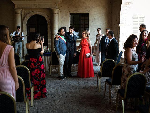 Il matrimonio di Emanuele e Hanna a Sermoneta, Latina 22