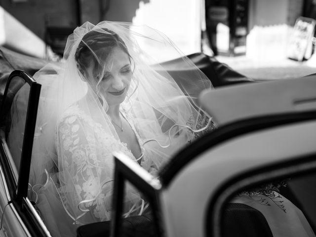 Il matrimonio di Emanuele e Hanna a Sermoneta, Latina 25