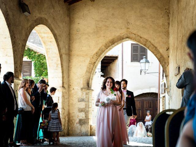 Il matrimonio di Emanuele e Hanna a Sermoneta, Latina 27