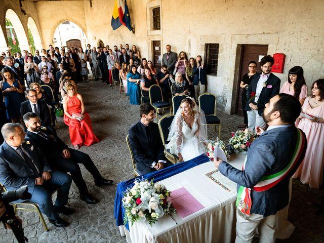 Il matrimonio di Emanuele e Hanna a Sermoneta, Latina 29