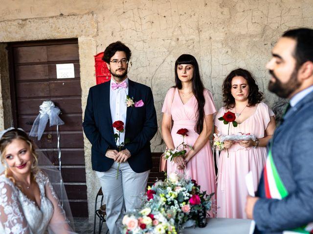 Il matrimonio di Emanuele e Hanna a Sermoneta, Latina 30