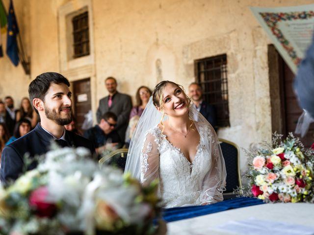 Il matrimonio di Emanuele e Hanna a Sermoneta, Latina 31