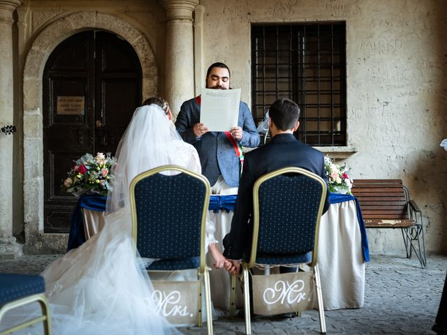 Il matrimonio di Emanuele e Hanna a Sermoneta, Latina 32