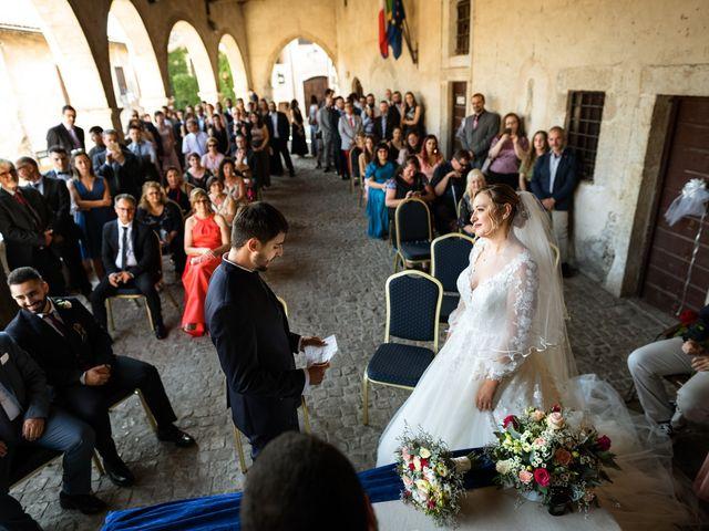 Il matrimonio di Emanuele e Hanna a Sermoneta, Latina 33