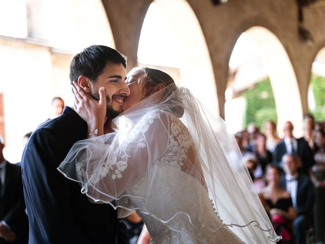 Il matrimonio di Emanuele e Hanna a Sermoneta, Latina 34
