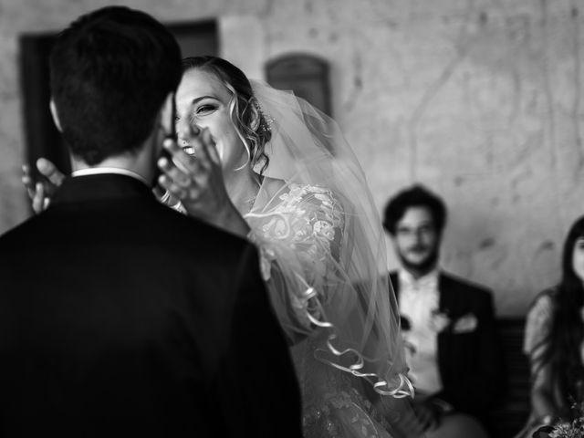 Il matrimonio di Emanuele e Hanna a Sermoneta, Latina 35