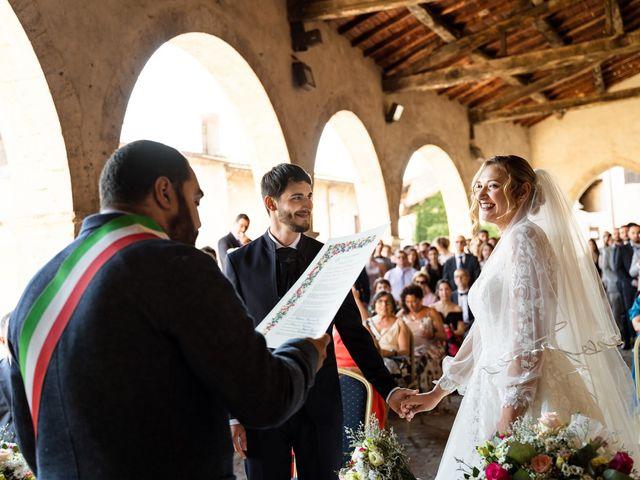 Il matrimonio di Emanuele e Hanna a Sermoneta, Latina 37