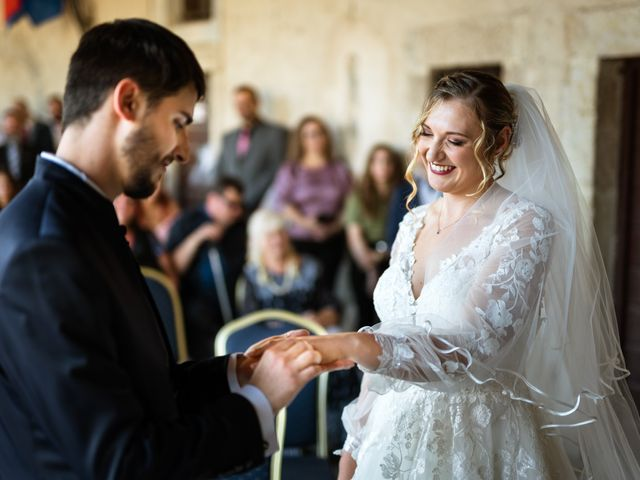 Il matrimonio di Emanuele e Hanna a Sermoneta, Latina 39