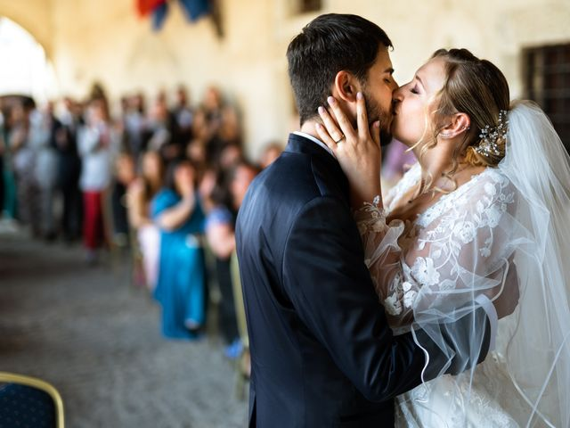 Il matrimonio di Emanuele e Hanna a Sermoneta, Latina 41