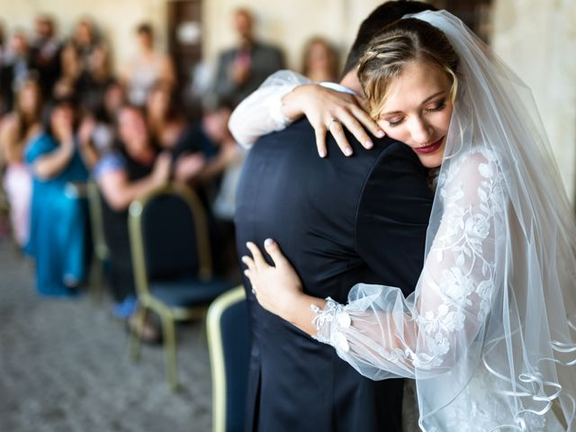 Il matrimonio di Emanuele e Hanna a Sermoneta, Latina 42