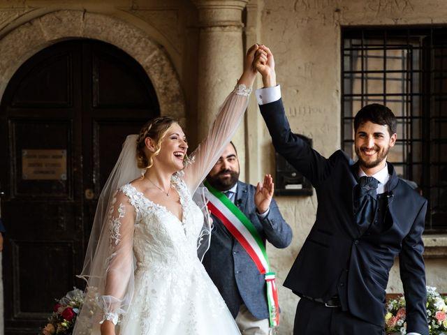 Il matrimonio di Emanuele e Hanna a Sermoneta, Latina 43
