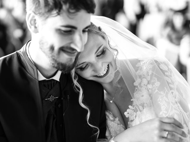 Il matrimonio di Emanuele e Hanna a Sermoneta, Latina 45