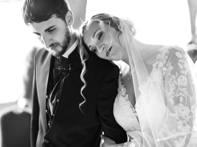 Il matrimonio di Emanuele e Hanna a Sermoneta, Latina 46
