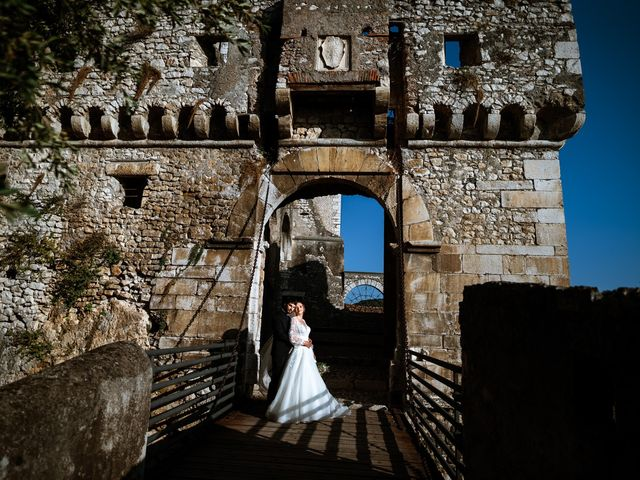 Il matrimonio di Emanuele e Hanna a Sermoneta, Latina 49
