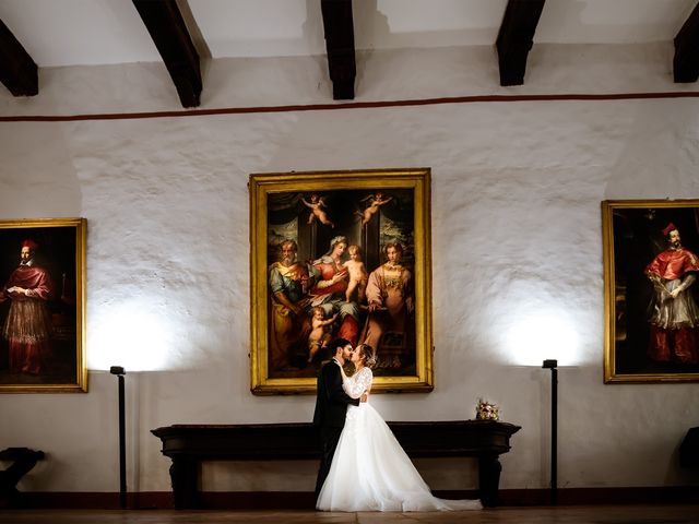 Il matrimonio di Emanuele e Hanna a Sermoneta, Latina 53