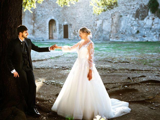 Il matrimonio di Emanuele e Hanna a Sermoneta, Latina 58
