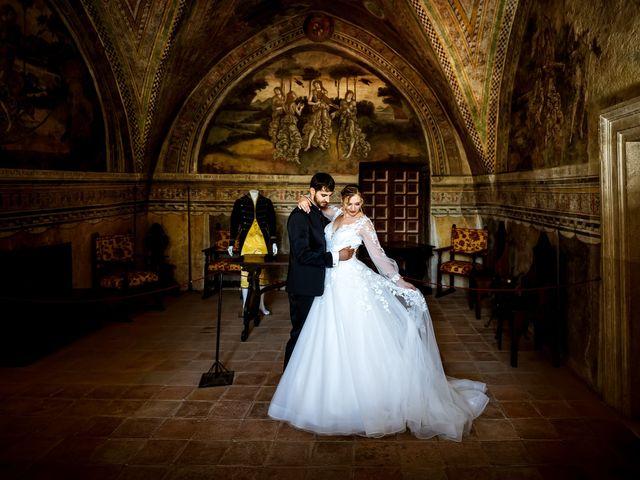 Il matrimonio di Emanuele e Hanna a Sermoneta, Latina 59