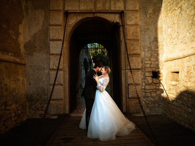 Il matrimonio di Emanuele e Hanna a Sermoneta, Latina 61
