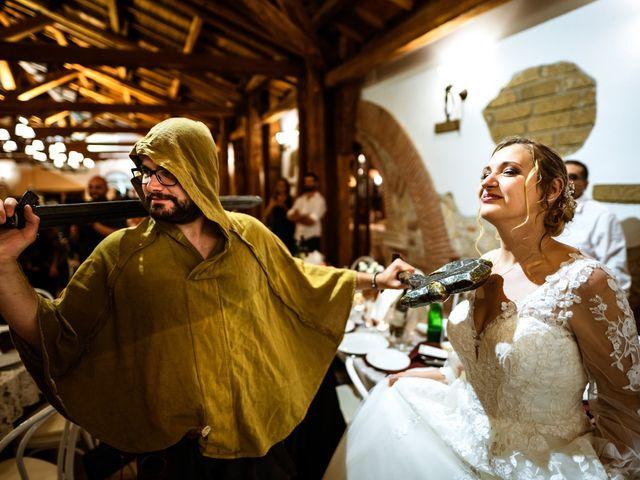 Il matrimonio di Emanuele e Hanna a Sermoneta, Latina 76
