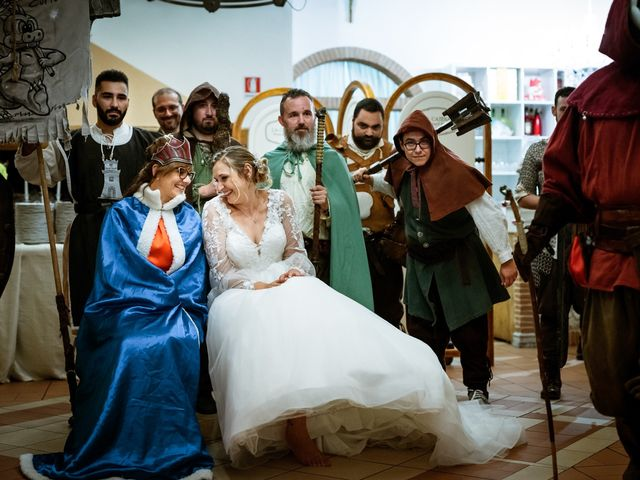 Il matrimonio di Emanuele e Hanna a Sermoneta, Latina 78